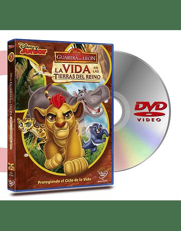 DVD Serie La Guardia Del Leon : La Vida En Las Tierras Del Reino