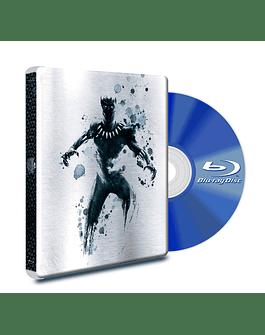 Steel Book Blu Ray Black Panther + DVD