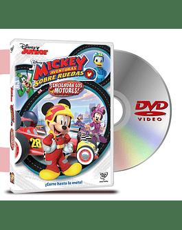 DVD Mickey Aventuras Sobre Ruedas ¡Enciendan Los Motores!