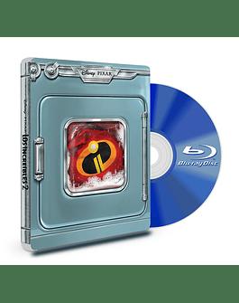 Steel Book Blu Ray Los Increíbles 2 BD+DVD