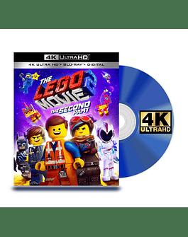 Blu Ray 4K La Película de Lego Parte 2
