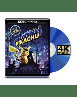 Blu Ray 4K Pokémon: Detective Pikachu