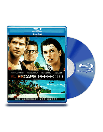 Blu Ray El Escape Perfecto
