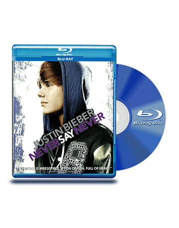 Blu Ray Justin Bieber : Never Say Never