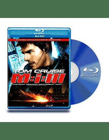 Blu Ray Misión Imposible 3 : 2 Discos
