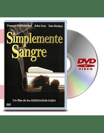 DVD Simplemente Sangre