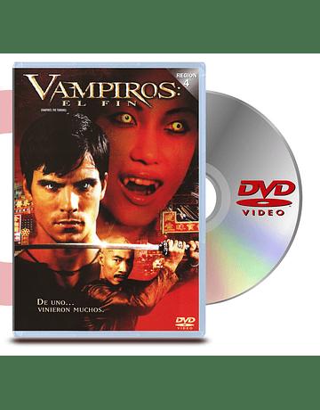 DVD Vampiros El Fin