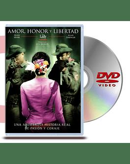DVD Amor, Honor y Libertad