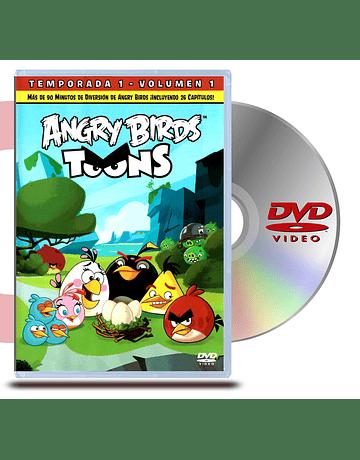 DVD Angry Birds : Temp 1 - Vol 1