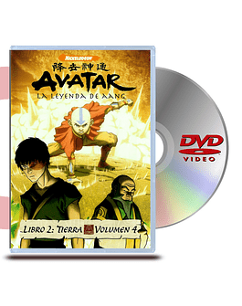 DVD Avatar Libro 2: Vol 4