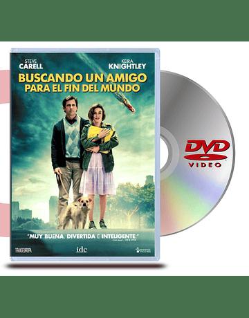 DVD Buscando un amigo para el fin del mundo