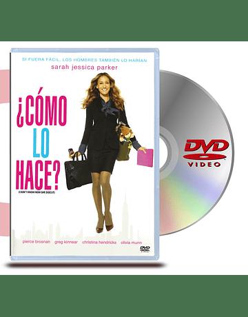 DVD Como Ella Lo Hace