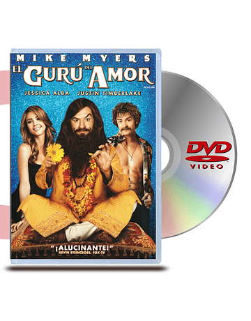 DVD El Guru del Amor