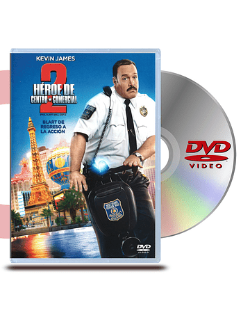 DVD Héroe de Centro Comercial 2