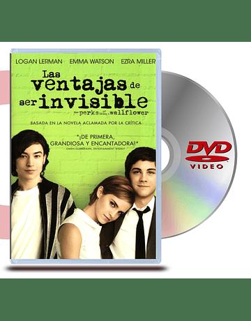 DVD Las Ventajas de Ser Invisible