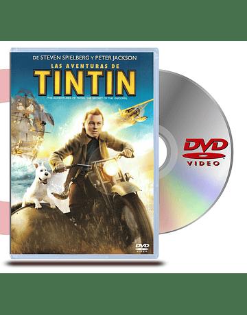 DVD Las Aventuras de Tin Tin