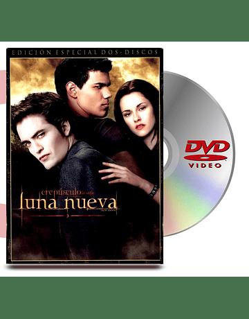 DVD Luna Nueva Saga Crespusculo: 2 Discos