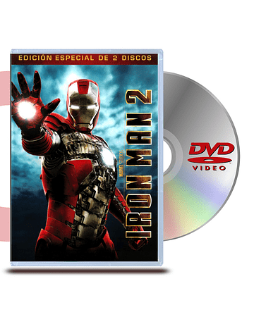 DVD Iron Man 2: (2 DISCOS)