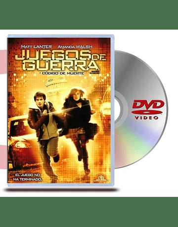 DVD Juegos de Guerra Codigo D