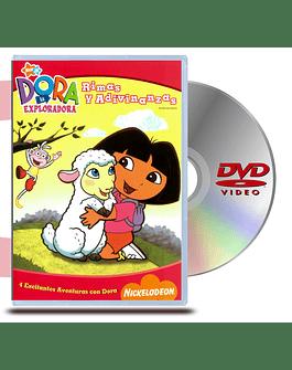 DVD Dora La Exploradora : Rimas y Adivinanzas