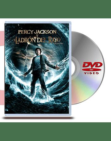 DVD Percy Jackson y el Ladrón del Rayo