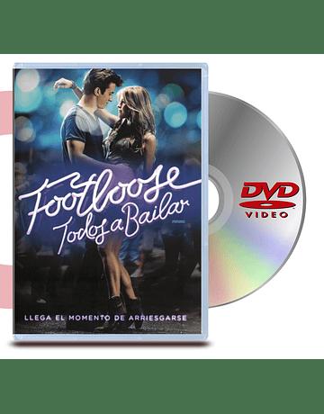 DVD Todos a Bailar (Footloose- Remake)