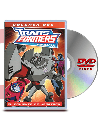DVD Transformers Animado Vol 2