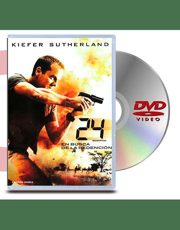 DVD 24 Horas En busca de la redencion