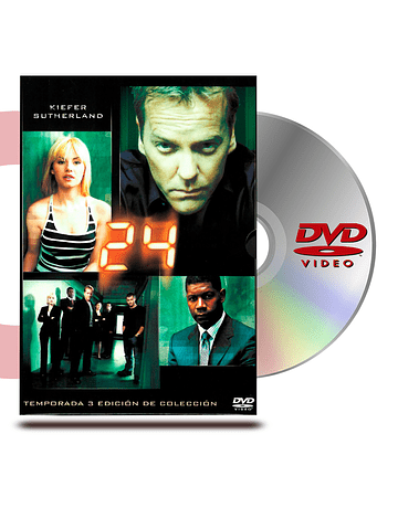 DVD 24 Horas Temporada 3