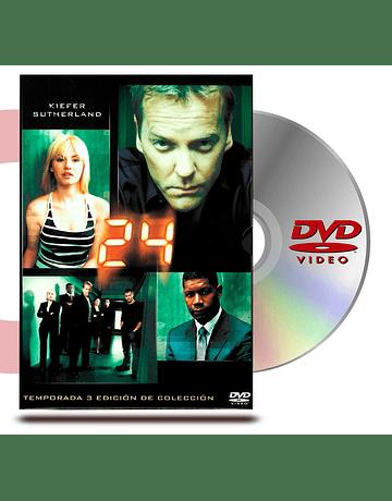 DVD 24 Horas Temporada 3