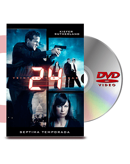 DVD 24 Horas Temporada 7