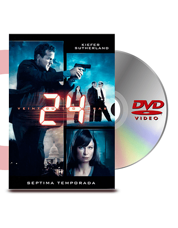 DVD 24 Horas Temporada 7