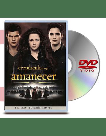 DVD Amanecer parte 2: Crepúsculo (1 Discos)