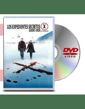 DVD Archivos Secretos X: Quiero Creer