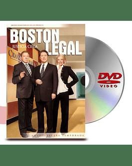 DVD Boston Legal - Justicia Ciega Temp 3
