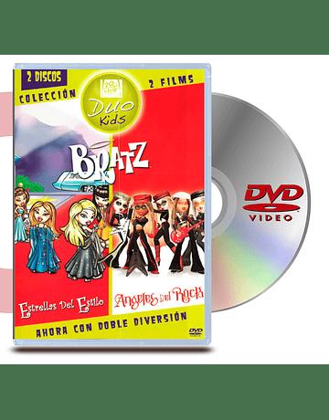 DVD Bratz Estrellas del Estilo y Angeles del Rock