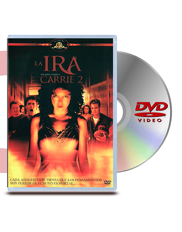 DVD Carrie 2 La Ira