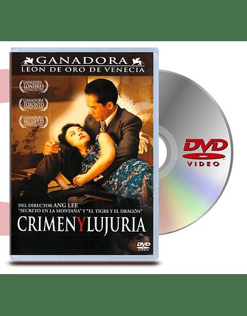 DVD Crimen y Lujuria