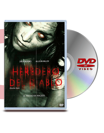 DVD Heredero del Diablo