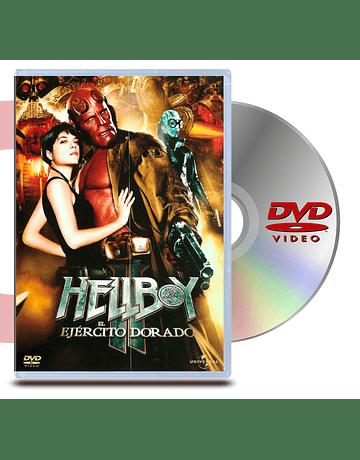 DVD Hellboy 2: El ejercito Dorado