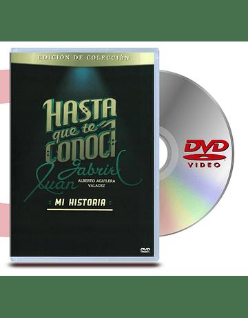 DVD Hasta Que Te Conoci Juan Gabriel