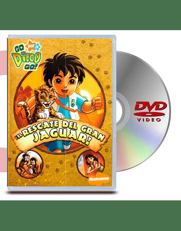 DVD Go Diego Go: El Rescate Del Jaguar