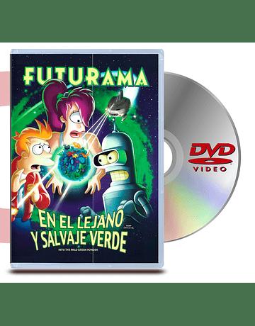 DVD Futurama En el lejano y salvaje verde
