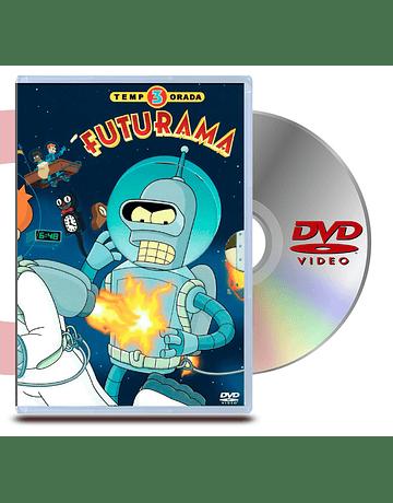 DVD Futurama Temporada 3