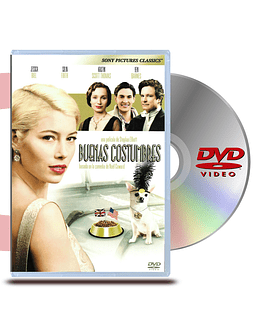 DVD Buenas Costumbres (Easy Virtue)