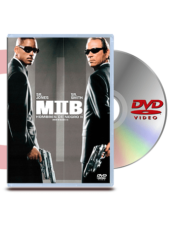 DVD Hombres De Negro 2