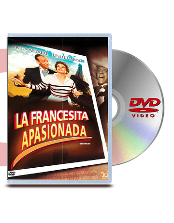 DVD La Francesita Apasionada