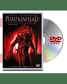 DVD Pumpkinhead 4: Feudo De Sangre