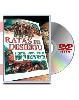DVD Ratas Del Desierto