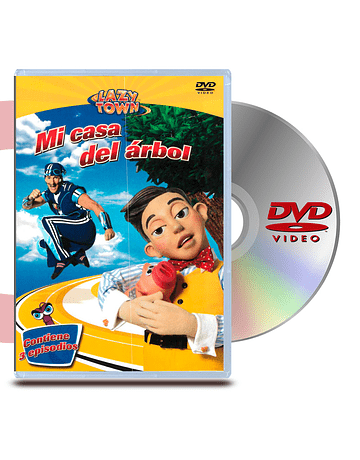 DVD Lazy Town: Mi Casa del Arbol